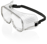 B-Brand Anit-Mist Clear Safety Goggle