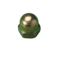 M8 Brass Hex Dome Nuts (Q100)