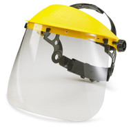 "Clear Replacement Face Protector 7.5"" Only"