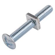 Roofing Bolt & Nuts BZP