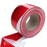 Barrier Tape Red/White 70mm X 500Mtr (Non-adhesive)