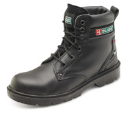 "Click Smooth Leather 6"" Safety Boot"