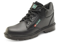 Click Leather Mid Cut Midsole Safety Boots