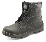Click Sherpa Dual Density 6 Inch Safety Boot, Black
