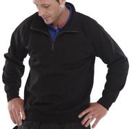 Click Long Sleeved Quarter Zip Fleece