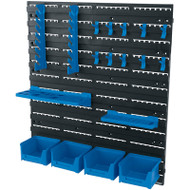 Draper 18 Piece Tool Storage Wall Board