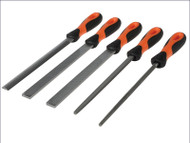 Bahco File Set 5 Piece 200mm (8in)