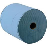 Large 1000 Sheet Paper Maintenance Roll Blue (2 Rolls Per Pack)