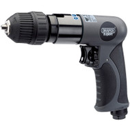 Draper Soft Grip Reversible Air Drill with 10mm Keyless Chuck