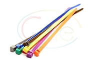 Coloured Cable Ties (100 Per Pack)