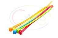 Fluorescent Cable Ties (100 Per Pack)