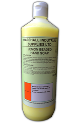 Marshalls Lemon Beaded Hand Cleaner 1 Litre