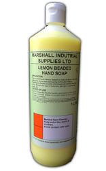 Lemon Beaded Hand Soap 1L