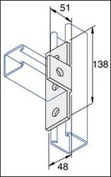 Galv 90o Angle 'T'  Angle Fitting