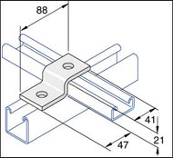 Galv P4045 Shallow 'Z' Fitting