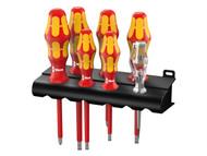 Wera Kraftform Plus VDE Series 100 Screwdriver Set of 7