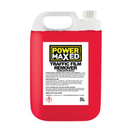 Power Maxed Traffic Film Remover Concentrate 5 Litre