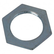 Galvanised Steel Conduit Hexagonal Locknut (10pk)