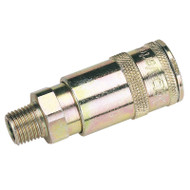 "1/4"" BSP Taper Male Thread Vertex Air Coupling (Sold Loose)"