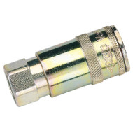 "3/8"" BSP Taper Female Thread Vertex Air Coupling"