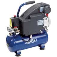 Draper 8L 230V 0.75kW (1hp) Air Compressor