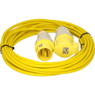 110v 16a 1.5mm Extension Lead 14 Metre
