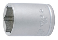 "Unior 1/4"" 6 Point Socket"