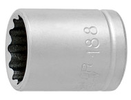 "Unior 1/4"", 12 Point Socket"