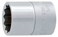 "Unior 3/8"" 12 Point Socket"