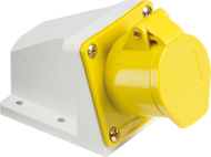 110v 16a Angled Surfaced Mounted Socket
