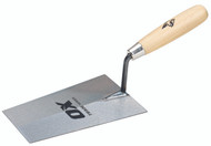 Trade Bucket Trowel - Wooden Handle 7""