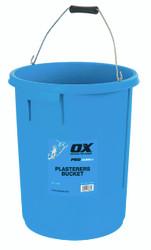 Ox Pro Plasterers Mixing Bucket 25 Litre