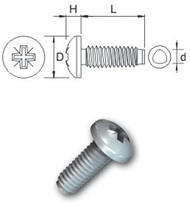 Pozi Pan Tap-Fix Bzp Screw (Per 100)