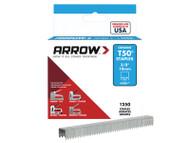 Arrow T50 Staples (1250 Per Box)