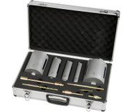 Ox 5 Piece Dry Core Case (38, 52, 65, 117, 127mm & Accessories)