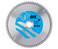 OX Alu/Plastic/Laminate Cutting Circular Saw Blade
