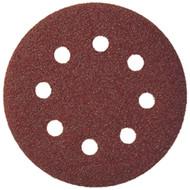 Klingspor 125mm 8 Hole Velcro Backing Sanding Disk (50 Box)