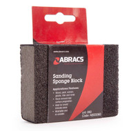 100mm x 70mm x 25mm Sponge Sanding Block (Each)