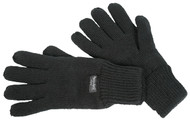 Thinsulate Black Knitted Glove