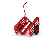 V-Kart, Heavy-duty Material Handling Trolley With Handle