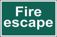 Fire Escape PVC (300 x 200mm)