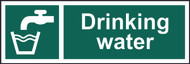 Drinking Water Sign (300 x 100mm)
