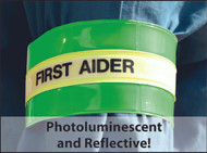 Hi-Vis (Reflective) Arm Band with Velcro Fastening