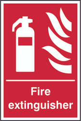 Fire Extinguisher Sign (200 x 300mm)