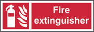 Fire Extinguisher Sign (300 x 100mm)