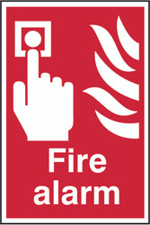 Fire Alarm Sign (200 x 300mm)