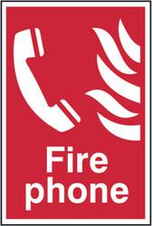 Fire Phone PVC Sign (300 x 200mm)
