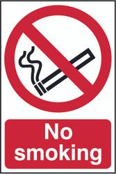 No Smoking PVC Sign (200 x 300mm)
