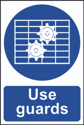 Use Guards PVC Sign (200 x 300mm)