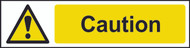Caution PVC Sign (200 x 50mm)